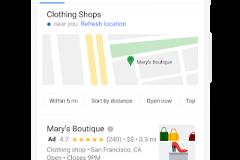 Miestna kampaň vo vyhľadávaní Google