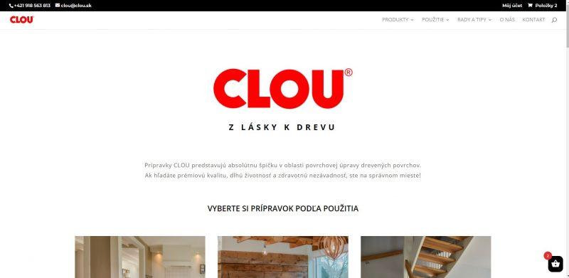 CLOU eshop